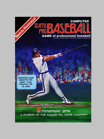 Retro Computer Baseball Game Review Computer Statis Pro