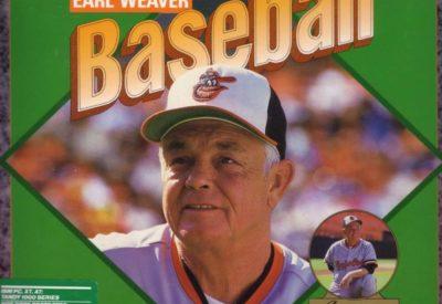 Earl Weaver Baseball front cover