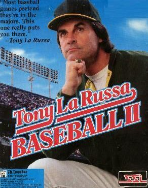 Tony La Russa Baseball II front cover